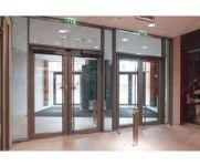 фото автоматические распашные двери