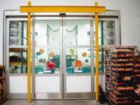 фото автоматические раздвижные двери хлебобулочного магазина