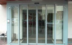 фото автоматические телескопические двери магазина свадебных подарков