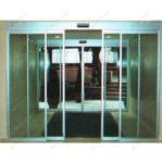 фото автоматические телескопические двери в туристическом агенстве
