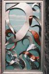 фото металлические комбинированные двери элитные отдела дизайнерских услуг