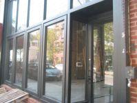 фото офисные входные металлические двери строительной компании