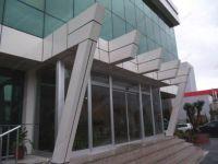 фото входные раздвижные двери со стеклом
