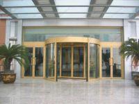 фото алюминевые радиусные входные двери