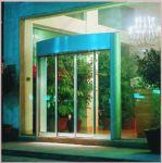 фото автоматические раздвижные двери алюминевые в салон красоты