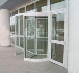 фото карусельные алюминиевые двери