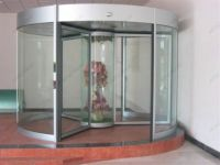 фото карусельные двери из алюминиевого профиля