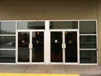 фото алюминиевые распашные двери