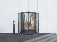 фото радиусные автоматические офисные двери