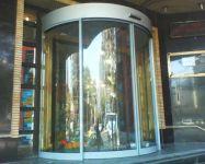 фото радиусные автоматические раздвижные двери