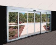 фото телескопические раздвижные двери для салона красоты
