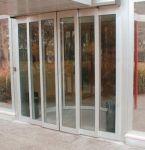 фото телескопические раздвижные двери из алюминиевого профиля