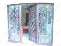 фото кованные входные двери для загодного дома