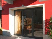 фото металлические двери со стеклом для магазина цветов