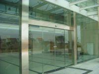 фото автоматические раздвижные двери (стеклянные)