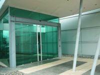 фото автоматические раздвижные двери (стеклянные) для супермаркета