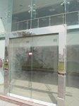 фото автоматические раздвижные двери (стеклянные) из не ржавеющей стали