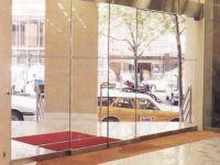 фото входные автоматические раздвижные двери (стеклянные)