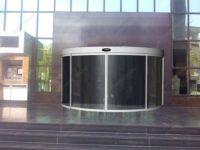 фото автоматические круглые двери