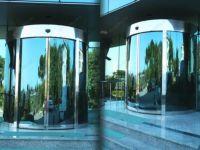 фото круглые офисные двери