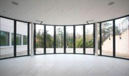фото круглые телескопические двери
