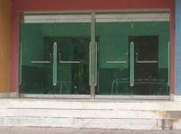 фото маятниковые двухпольные распашные двери