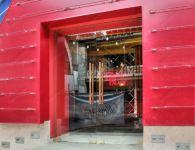 фото маятниковые распашные двери для гостинницы