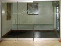 фото маятниковые распашные двери для отеля
