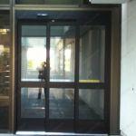фото алюминиевые телескопические входные двери
