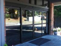 фото двухстворчатые телескопические входные двери