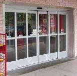 фото телескопические двери для магазина