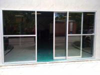 фото раздвижные входные двери пвх