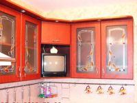 фото витраж для классической кухни
