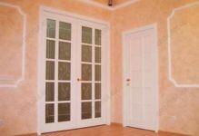 фото дверь пвх с витражами