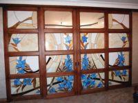фото витражные раздвижные двери
