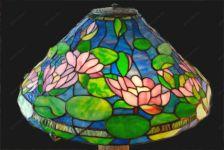 фото витражные лампы