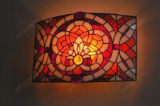фото светильник с витражами
