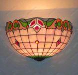 фото светильник с витражом