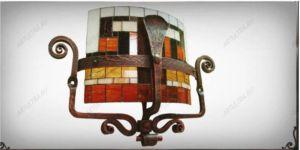 фото витражные потолочные светильники