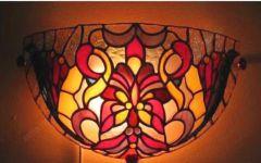 фото витражный светильник