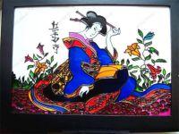 Фотография витражи в японском стиле