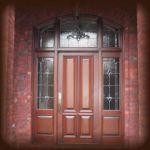 фото дверь входная с витражами
