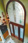 фото витраж в входную дверь