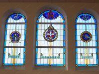 Фотография окна с витражи