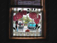 Фотография витражного окна