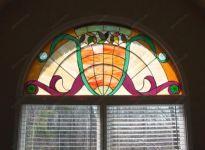 Витражи на окнах фото
