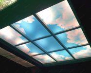 Фотовитражи на потолке