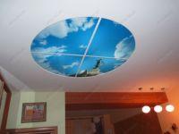 Витражные потолки с фотопечатью