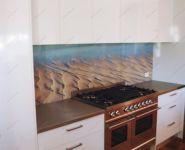 Фотопечать на стекле для кухни