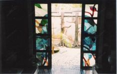 фото декоративные раздвижные двери